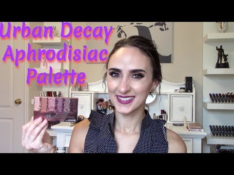 URBAN DECAY APHRODISIAC EYESHADOW PALETTE- DAZZLED OR DISAPPOINTED?