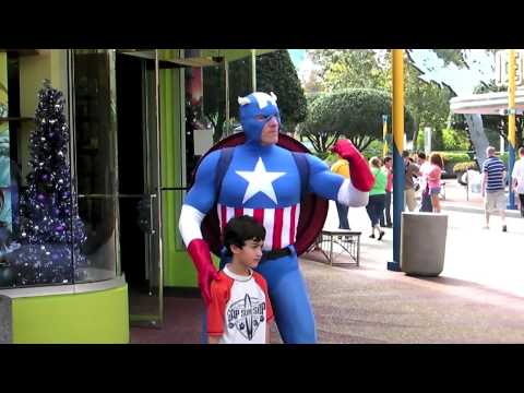 Meet the heroes of Marvel Super Hero Island at Universal's Islands of Adventure theme park