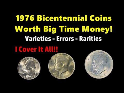 Collectors Want Your 1976 US Bicentennial Coins! - Here's What You Should Look For!
