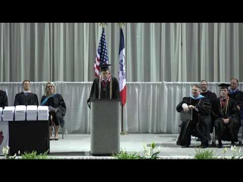 Ben Friedman Commencement Speech - Ankeny Centennial High School Commencement 2016
