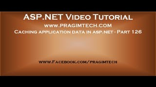 Caching application data in asp net   Part 126