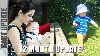 12 MONTH BABY UPDATE: Walking, Going to Nursery & Sleep Regression | Ysis Lorenna