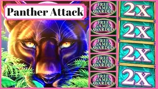 Panther Attack! ✦LIVE PLAY w/Bonus✦  Slot Machine at San Manuel, SoCal