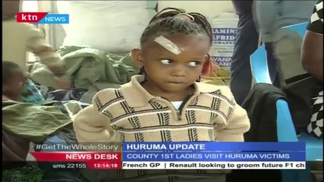 The county first ladies are expected to visit Huruma collapsed building site