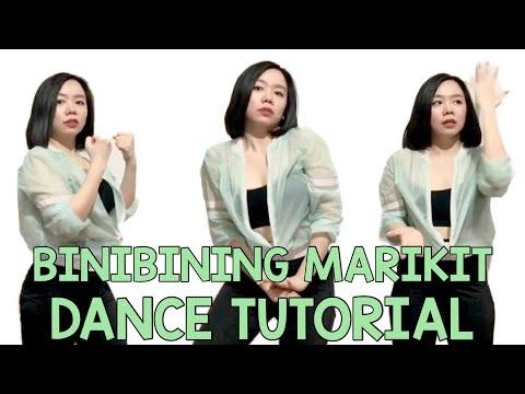 MARIKIT DANCE TUTORIAL (STEP BY STEP) BINIBINING MARIKIT_ GIRL ver.   CHECHE TOLENTINO.