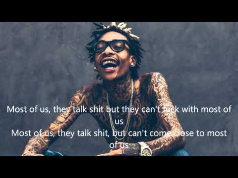Wiz Khalifa - Most Of Us Official Lyrics