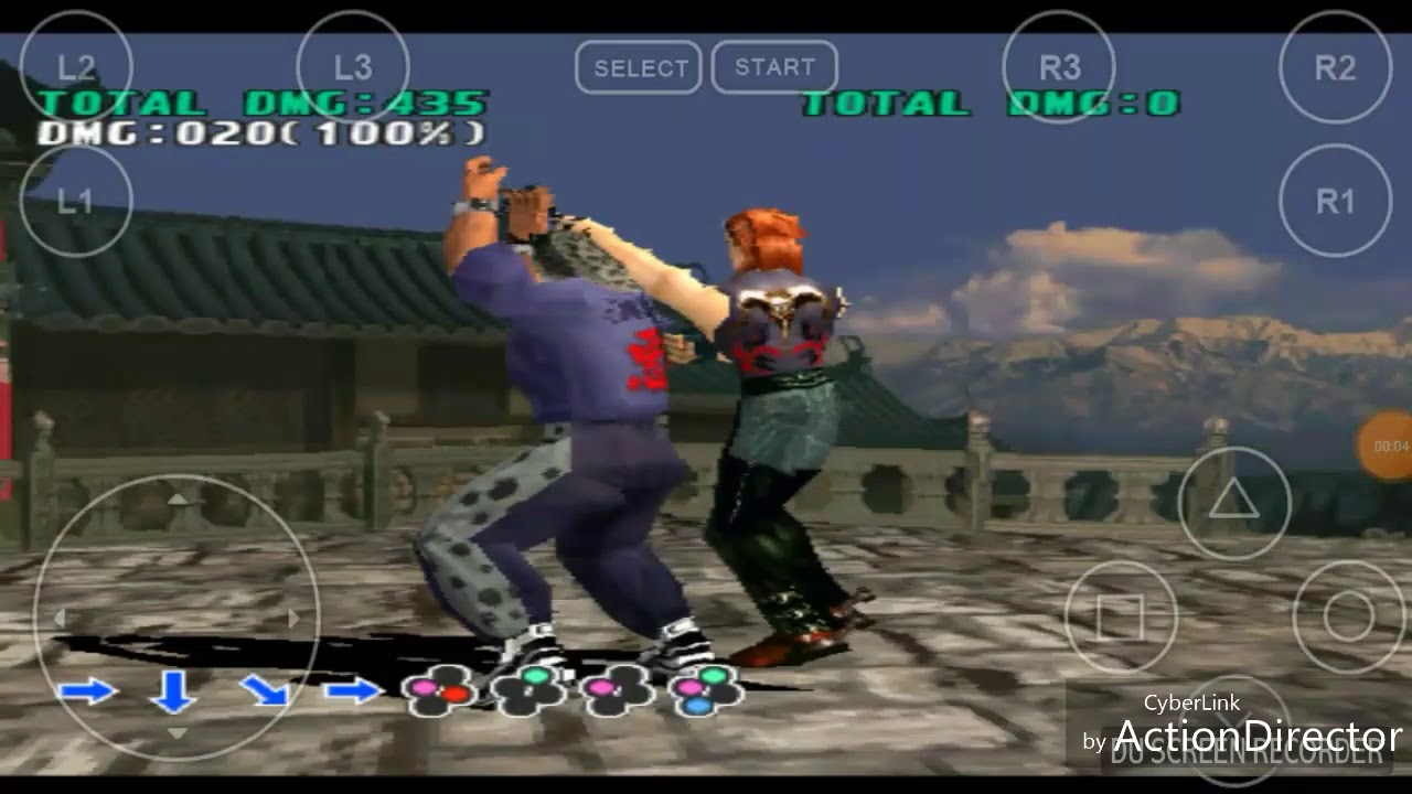 Android phone Tekken 3 King of the death roll 16 patki (naah song)