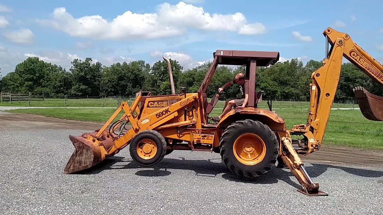 Case 580k Backhoe 4wd For Sale 717-658-6848