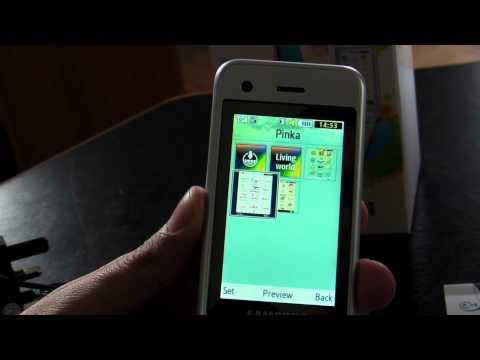 Samsung S5520 Nori review HD ( in Romana ) - www.TelefonulTau.eu -