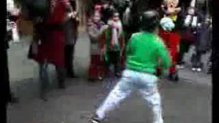 Mickey Mouse Dance Battle With Music!!! (RUN DMC