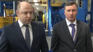 Сюжет ТСН24: В Туле открылся завод высокоточного литья