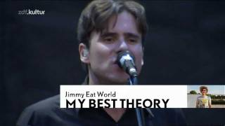Jimmy Eat World - My Best Theory / The Middle / Sweetness (Live at Hurricane 2011 Festival HD)