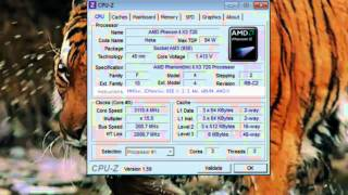 CPU-Z - Detailed PC System Information -  Hardware Specs [Tutorial] screenshot 2