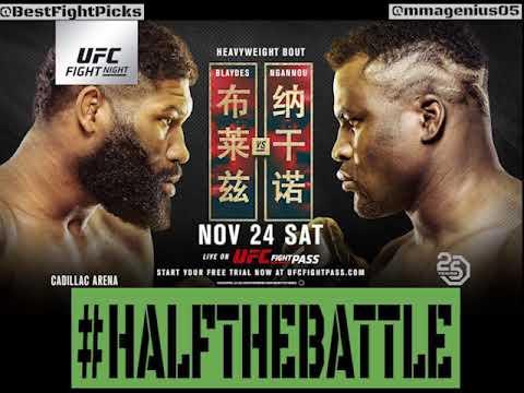 UFC Beijing: Blaydes Vs Ngannou 2 Bets, Picks, Predictions On Half The Battle