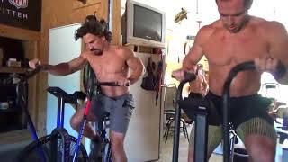 Rich Froning, Josh Bridges, Matt Hewett, & Dan Bailey  Workout