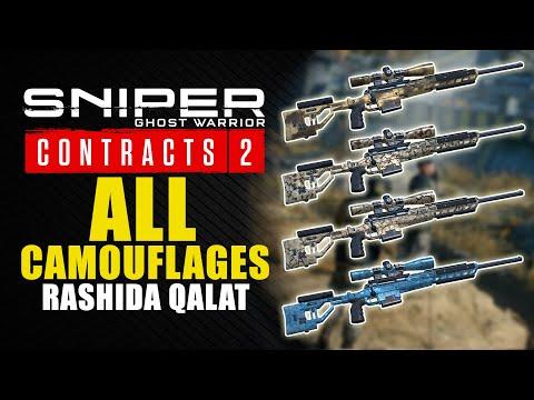 Sniper Ghost Warrior Contracts 2 guía - Dónde encontrar los 4 camuflajes de Rashida Qalat