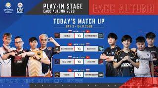 [Trực tiếp] Vòng Khởi Động (Day 3) EACC Autumn 2020 - FIFA Online 4