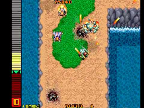 Aurail (Arcade) - Gameplay (RESUBIDO)