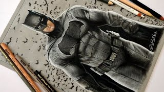 Speed Drawing: Batman - Ben Affleck