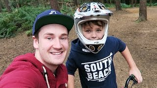 WATCHING JAMES DIRT BIKING