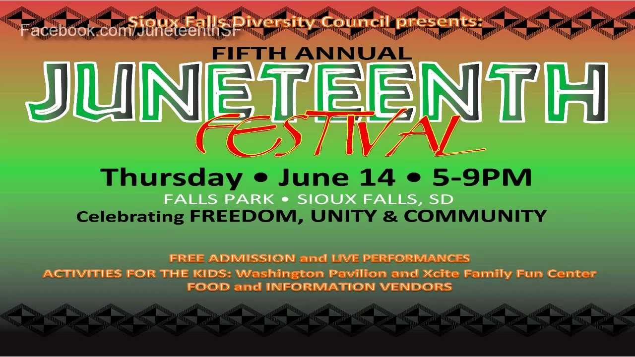 Juneteenth celebrated in Sioux City Saturday