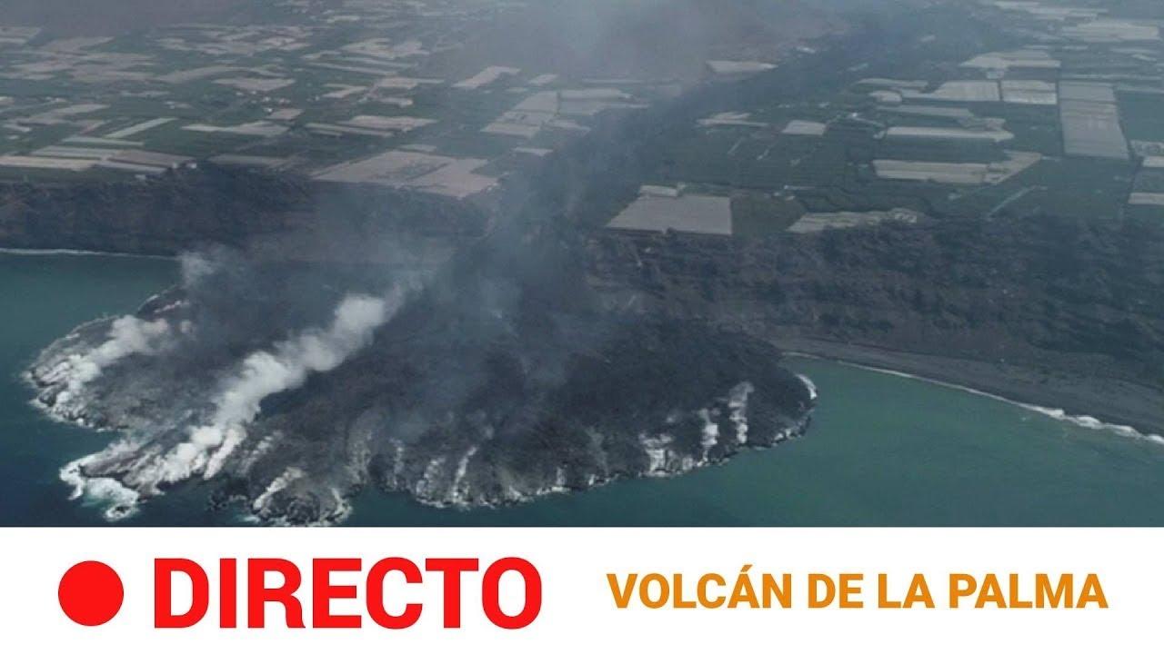 Download EN DIRECTO 🔴 Sigue la caída de LAVA del volcán de LA PALMA al MAR  | RTVE Noticias
