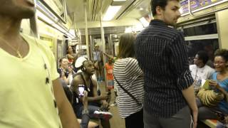 THE LION KING Broadway Cast Takes Over NYC Subway and Sings 'Circle Of Life' thumbnail