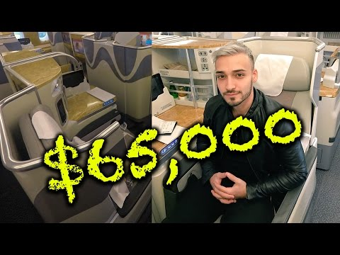 $65,000 EMIRATES FLIGHT SEAT TO DUBAI 5 STAR HOTEL!