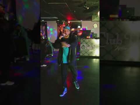 Johnny TGV performing live At Club Dream Wichita ks.
