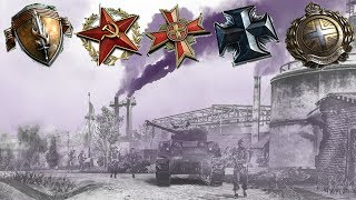 3,5 vs 4 - Company of Heroes 2 Replay Cast - Game #230