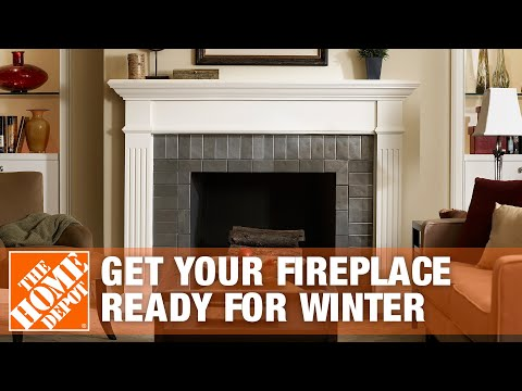 Getting Your Fireplace Ready For Winter The Home Depot Youtube