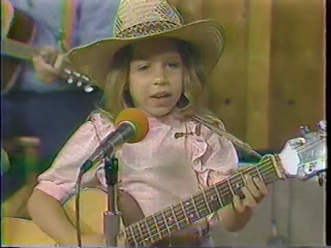 Mean Mary when she was a child (age 6) singing Long Tall Texan