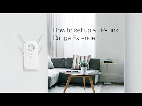 How to set up a TP-Link Range Extender