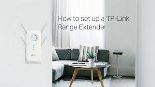 How to set up a TP-Link Range Extender