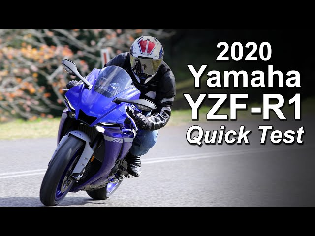 2020 Yamaha YZF-R1 - Quick Ride Review - Too much motorcycle (for me)?