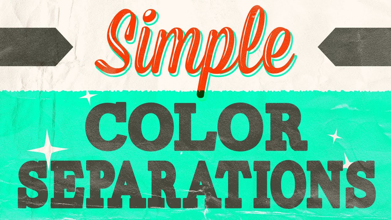 f3bf0050e Create Color Separations in Photoshop. Start Screen Printing Now