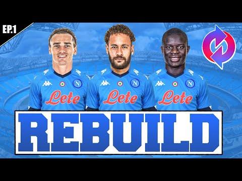 🤑 REBUILDING CON IL NAPOLI! RICOSTRUIAMO TUTTA LA SQUADRA!! FIFA 21 CARRIERA ALLENATORE NAPOLI #1