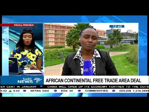 African Continental Free Trade Area deal
