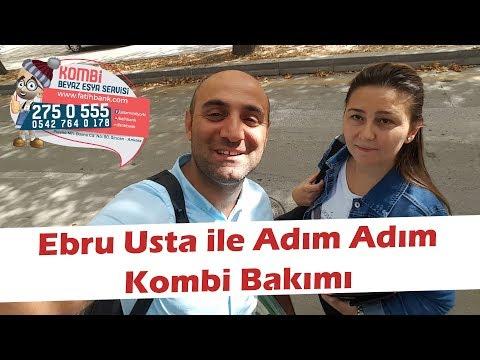 Ebru Usta ile Adım Adım Kombi Bakımı ve Temizliği Ankara! Tekrar Yüklendi.