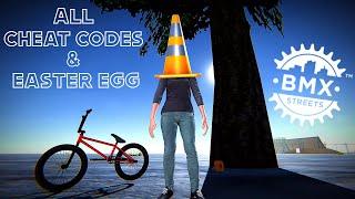BMX Streets P PE - Cheat Codes \u0026 Easter Egg