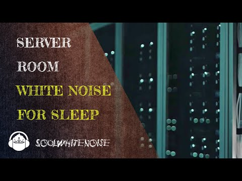 Server Room White Noise To Help You Obtain A Deep And Restful Sleep