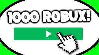WIN 1000 FREE ROBUX FOR BEATING THIS GAME (Roblox) (June 2019)