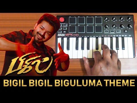 Bigil Bigiluma Mass Theme By Raj Bharath   Thalapathy Vijay   A.R.Rahman