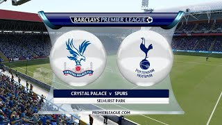 Crystal Palace VS Tottenham Live 2018