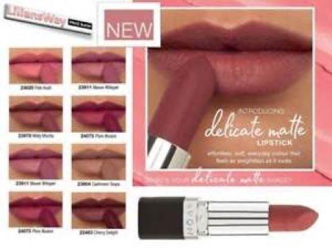 Swatch Nuovi Rossetti Avon Delicate Matte Lipstick Campagna 11 2018
