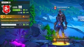 Fortnite Season 6 level 38 | Unlocking Everything Grind