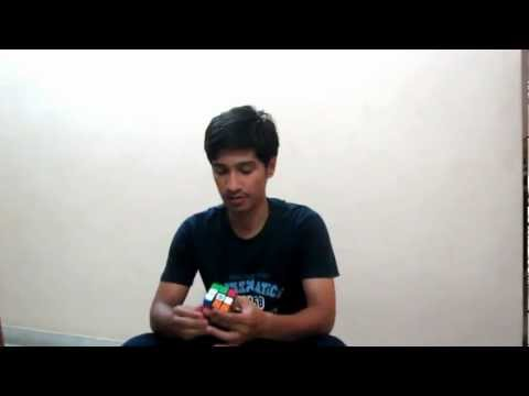 rubik's cube solve for Brady-Numberphile.
