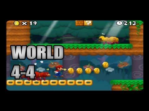 New Super Mario Bros DS World 4-4