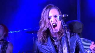 Halestorm - Straight Through The Heart (Dio Cover) Kewanee, IL 2013.07.27