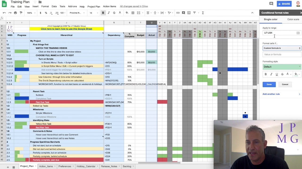19 Budget Tracking Jpmg Project Plan Template For Google Sheets